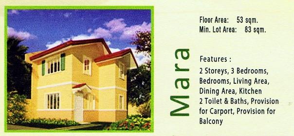 Camella Davao - Communal, Buhangin, Davao City - Mara model