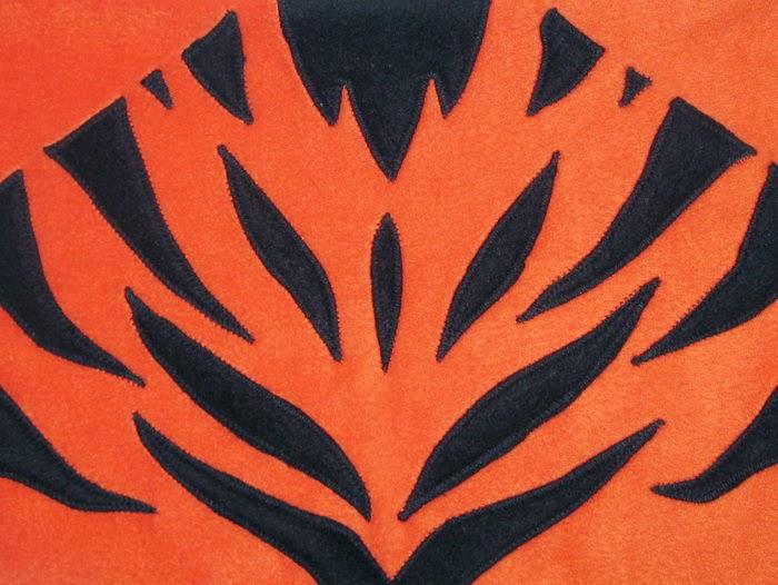 мягкая игрушка подушка из флиса тигр своими руками