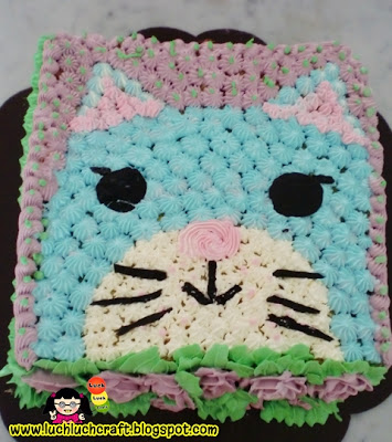 easy cake for cat
