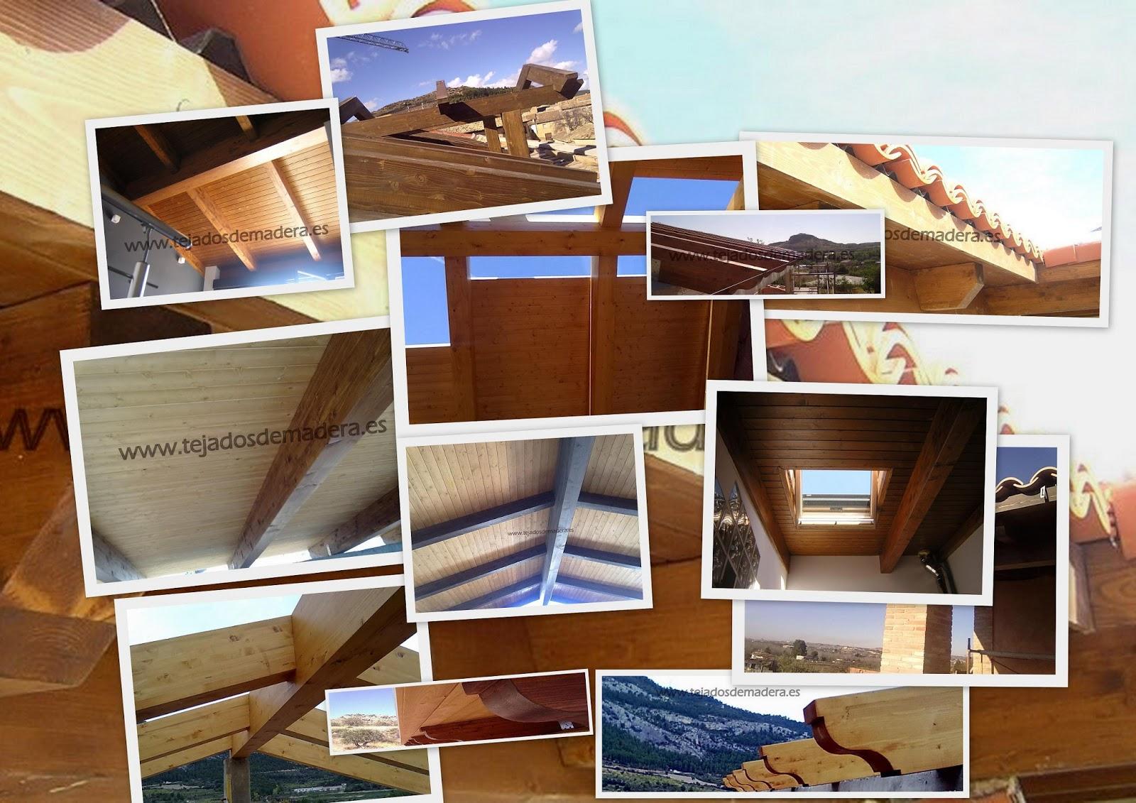 Estructuras de madera cutecma cutecma feliz 2012 for Tejados de madera thermochip