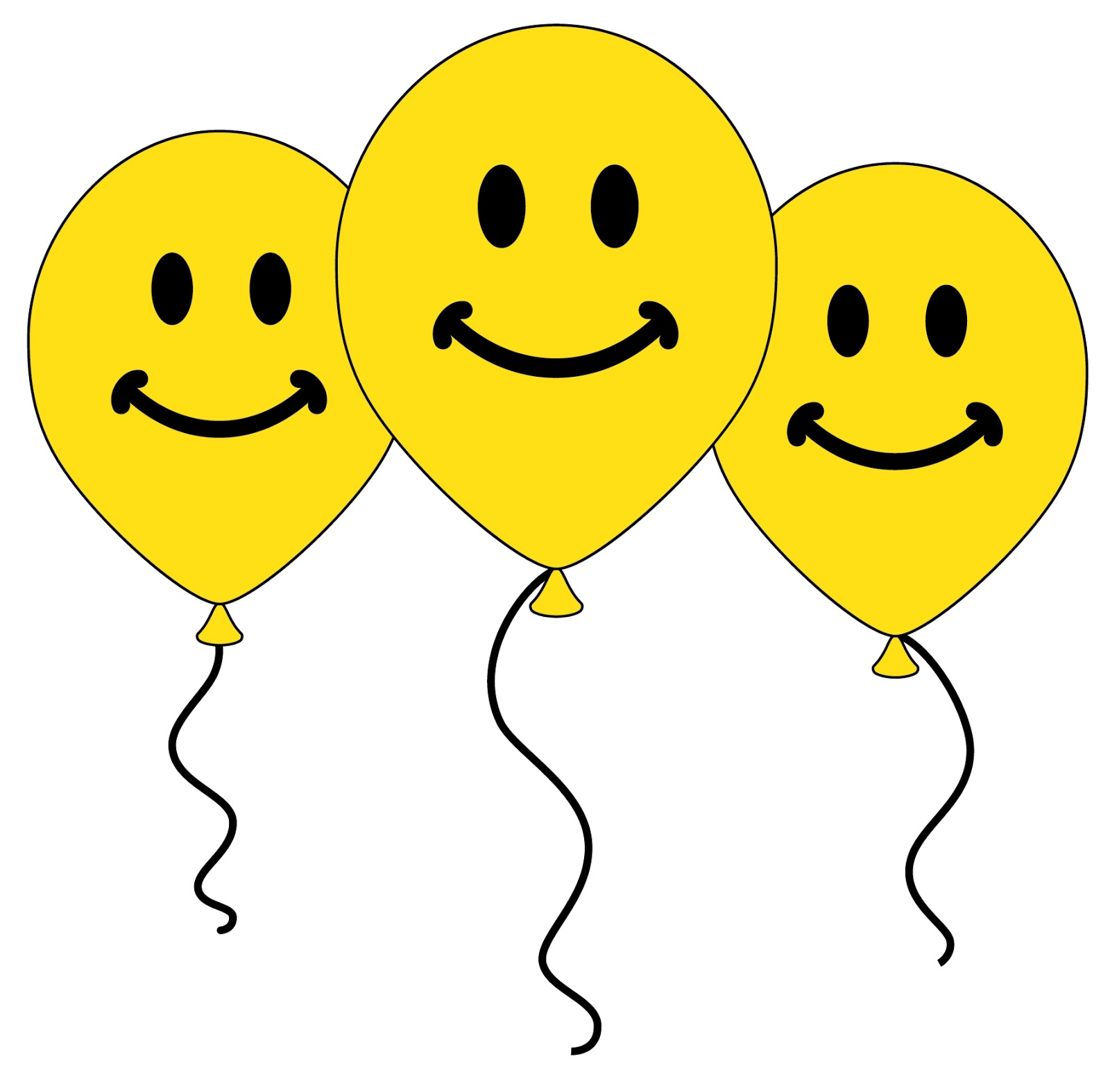 Funny balloon faces - Smiley Symbol