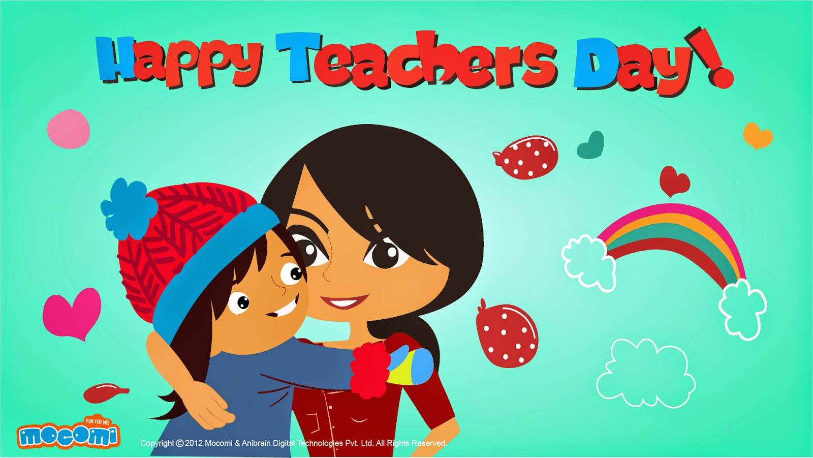 Teachers day cardspoemgreetingspeech and quotes some of the happy teachers day greeting card kristyandbryce Choice Image