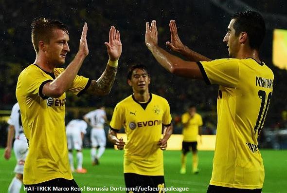 Borussia Dortmund Parah, Sikat Habis 7-2 Odd Grenland