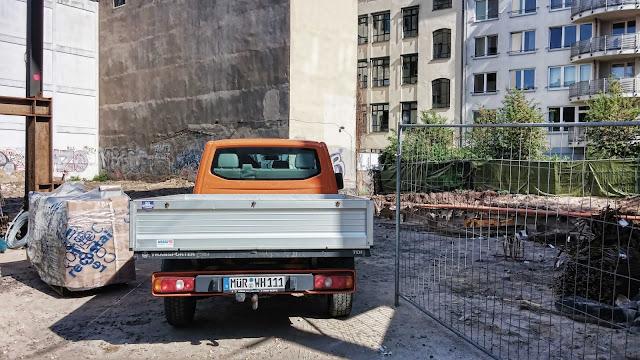 Baustelle Fundamentarbeiten, Große Präsidentenstraße 7, 10178 Berlin, 28.04.2014