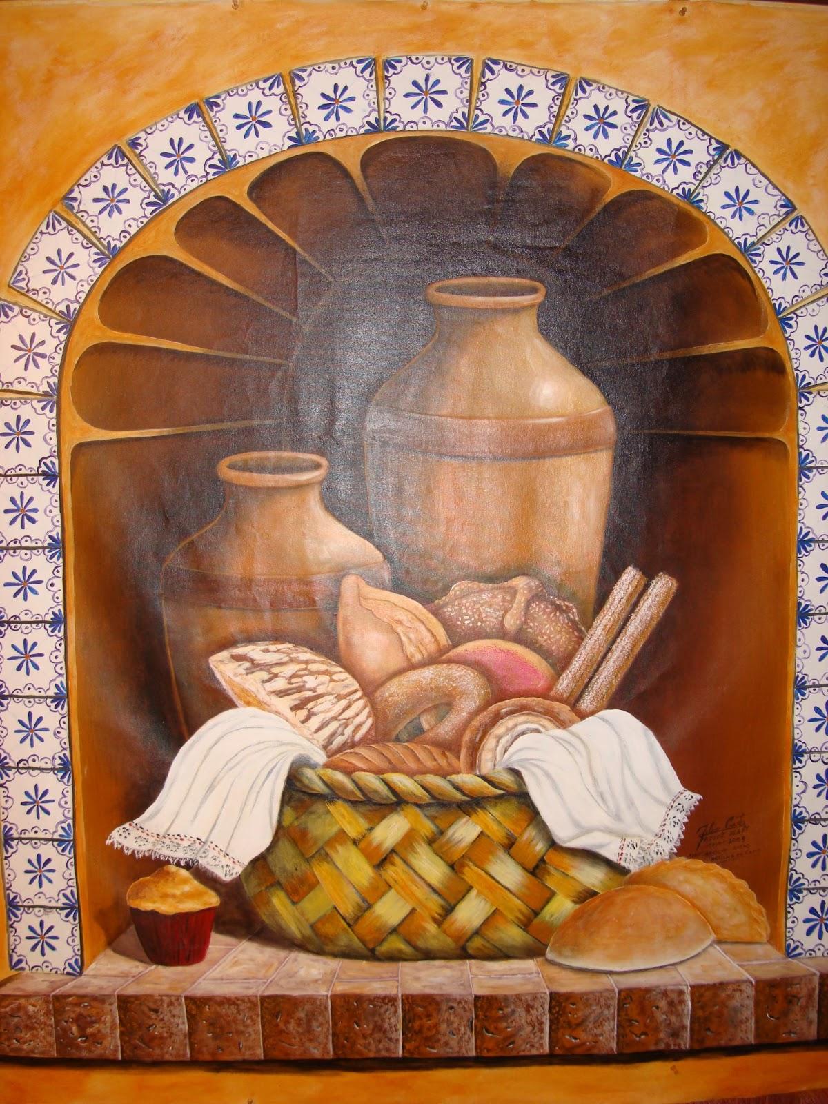 Arte Y Pintura Decorativa Para Restaurantes Un Mundo En