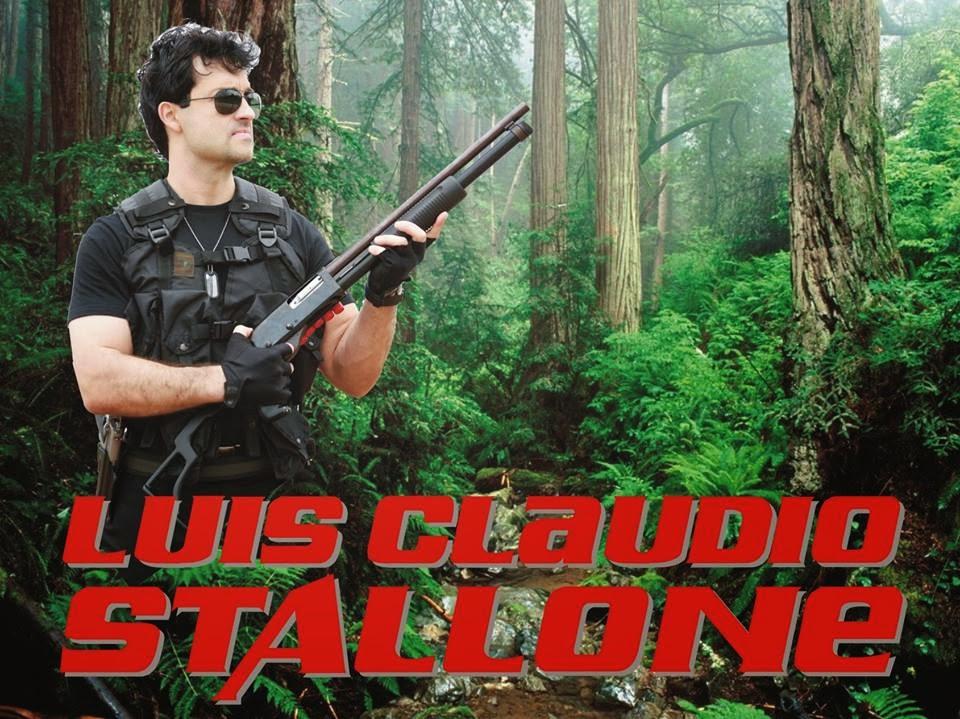 Luis Claudio, sósia do Sylvester Stallone