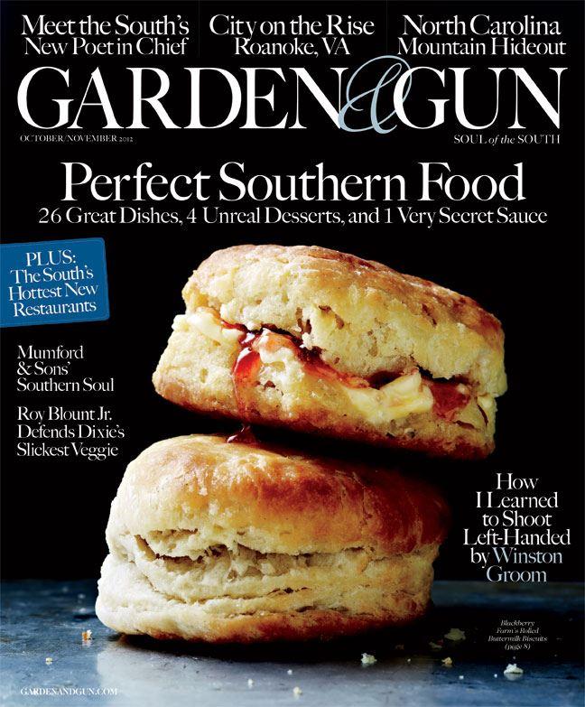 garden and gun. garden and gun :