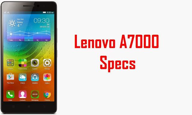 Lenovo A7000: HP Jaringan