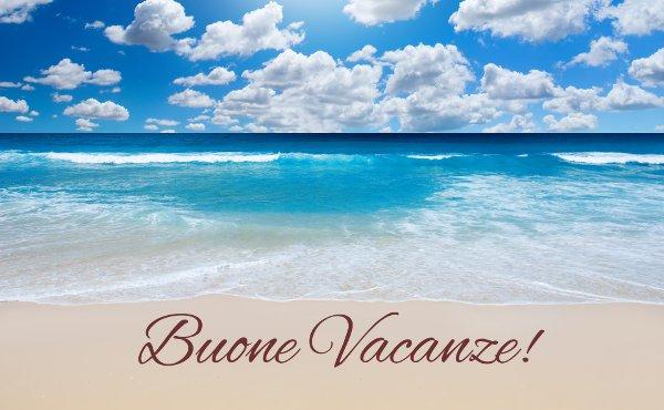 Buone vacanze a tutti...
