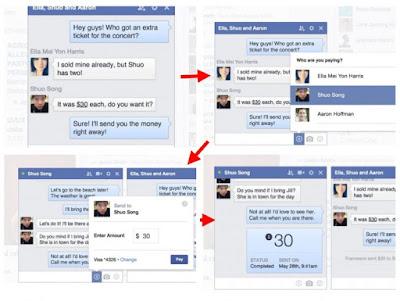Sistema de pagos facebook messenger