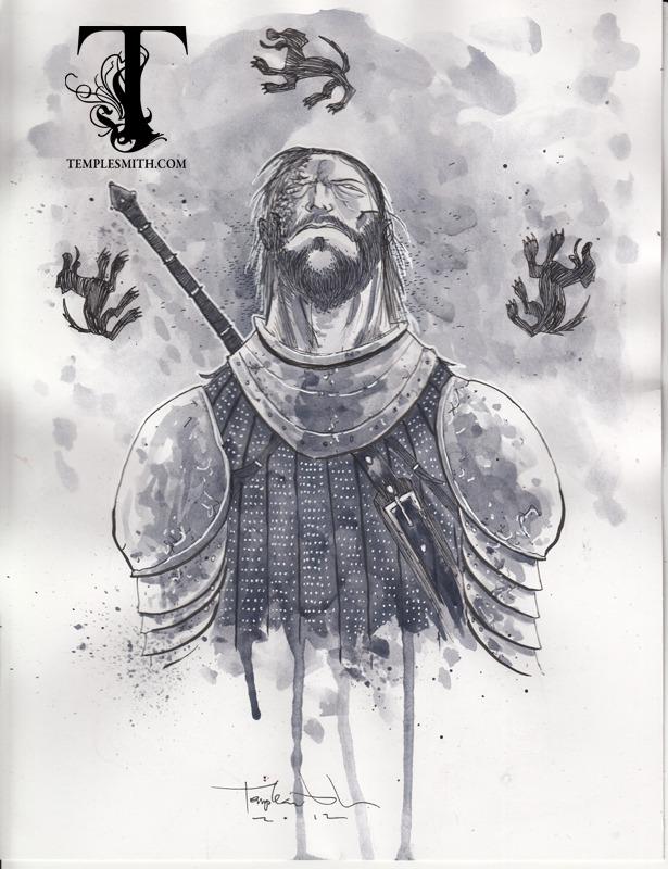 Фанарт. «Игра престолов» от Бена Темплсмита