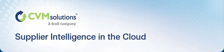 Supplier Intelligence in the Cloud