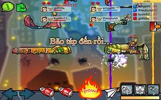 Game GunBound Mobile - Game Bắn Súng Tọa Độ Hot Nhất 2014