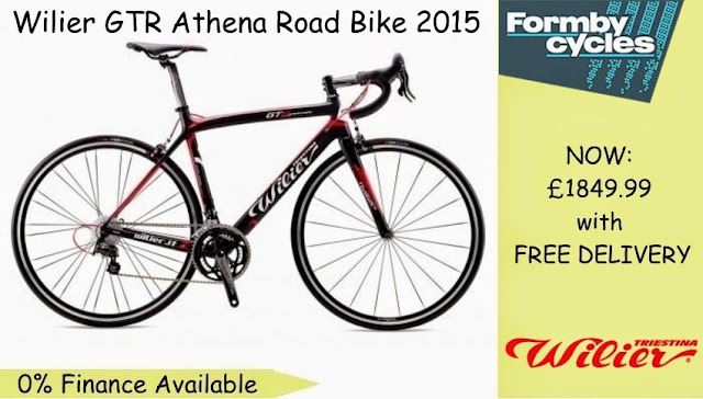 2015 Road Bike: Wilier GTR Athena
