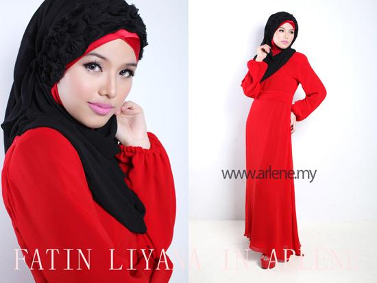 Gambar Serba Merah Dr Fatin Liyana Asri