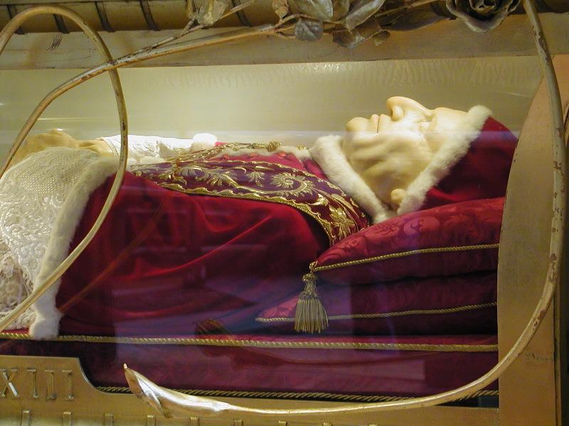 Juan XXIII, incorrupto