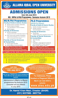Department Home And Health Sciences Education Pakistan