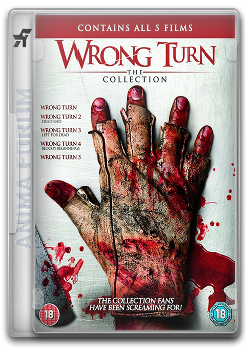 Wrong Turn  1-5 - Pentalogy (2003-2012) tainies online oipeirates