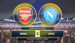 arsenal+vs+napoli Prediksi Arsenal vs Napoli 3 Agustus 2013