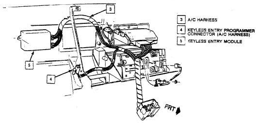 1990 Buick Park Avenue Key Fob Remote Programming
