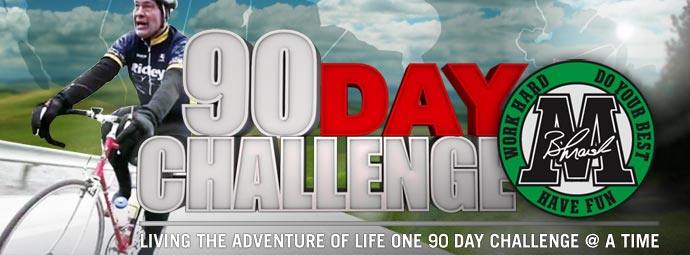 Brad Marsh 90 Day Challenge