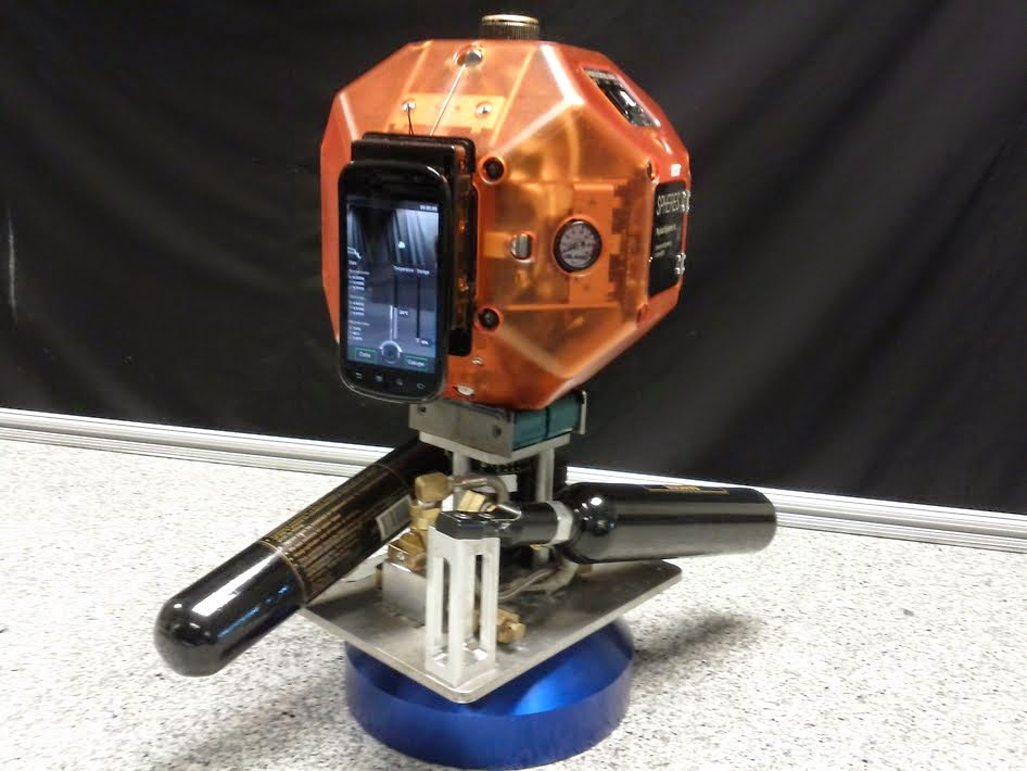 PROTOTYPE ROBOT WITH SMARTPHONE TO TEST3-D MAPPING, NAVIGATION