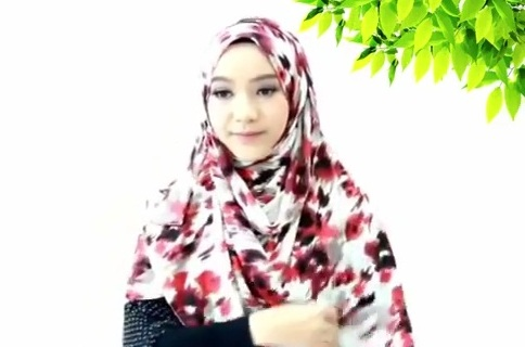 Inspirasi Tutorial Hijab Untuk Hari Raya #2