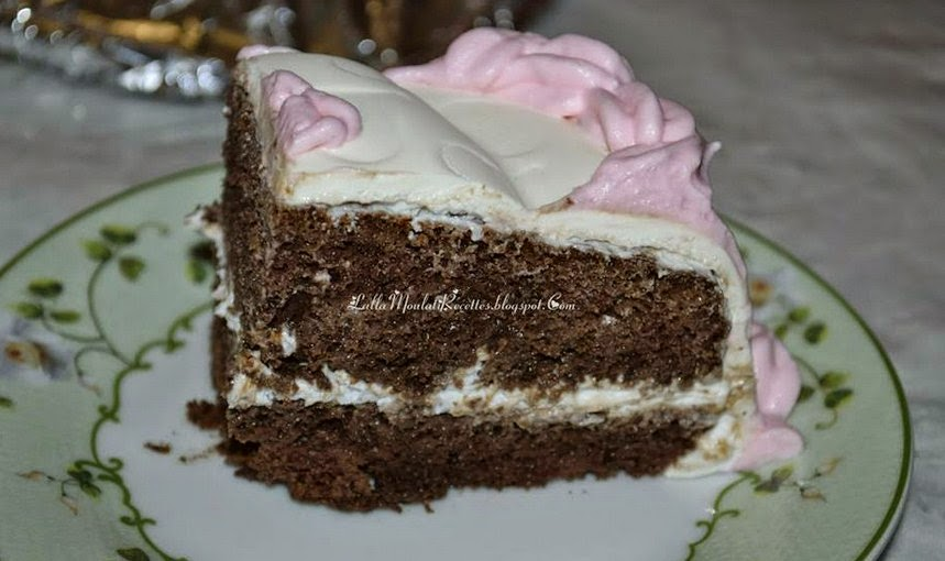 Gâteau de naissance Baby Girl