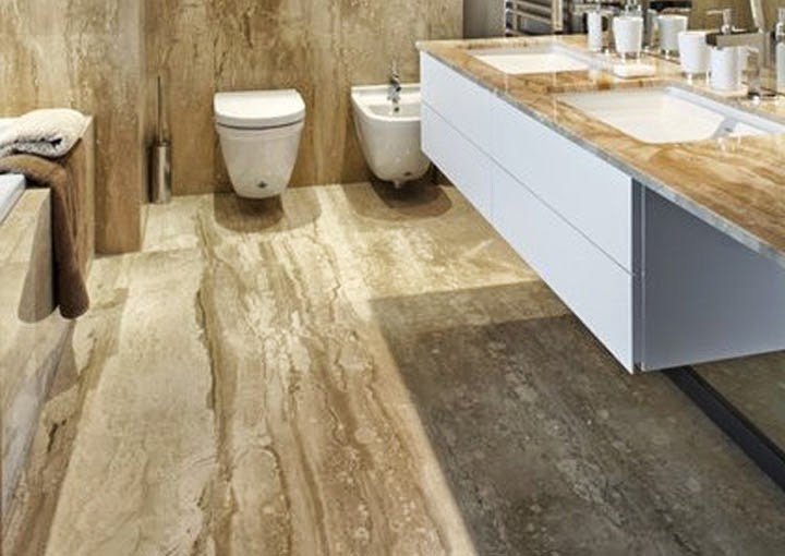 Márvány Design - tervezzünk természetes kövekkel!: Breccia Sarda / Daino Reale - mészkő (márvány)