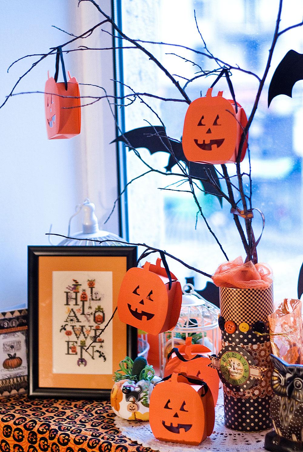 Декорации своими рука для хэллоуина 639