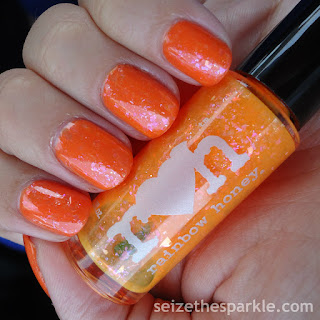 SinfulColors Feel The Vibe & Rainbow Honey Juicy Orange Pop