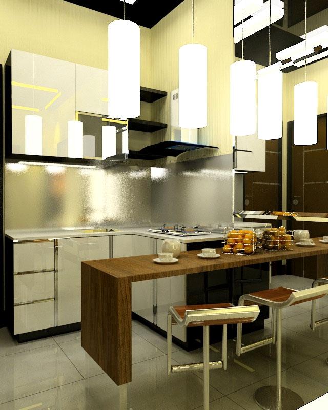 Kitchen Set Ruang Kecil: Desain Interior Dari Apartemen Minimalis Idaman Anda