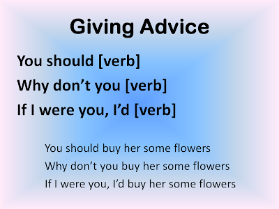 How to Give Advice in English - recommend, suggest, advise ...