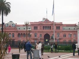 CASA ROSADA - SEDE DEL GOBIERNO NACIONAL ARGENTINO
