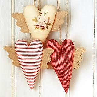 dia dos namorados - coração em patchwork