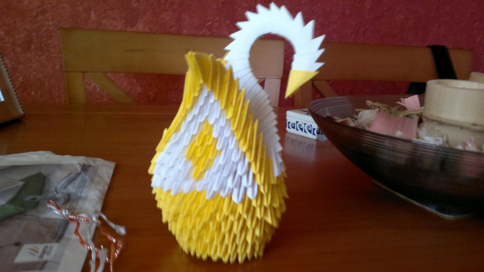 Origami para ti cisnes origami 3d - Origami para todos ...
