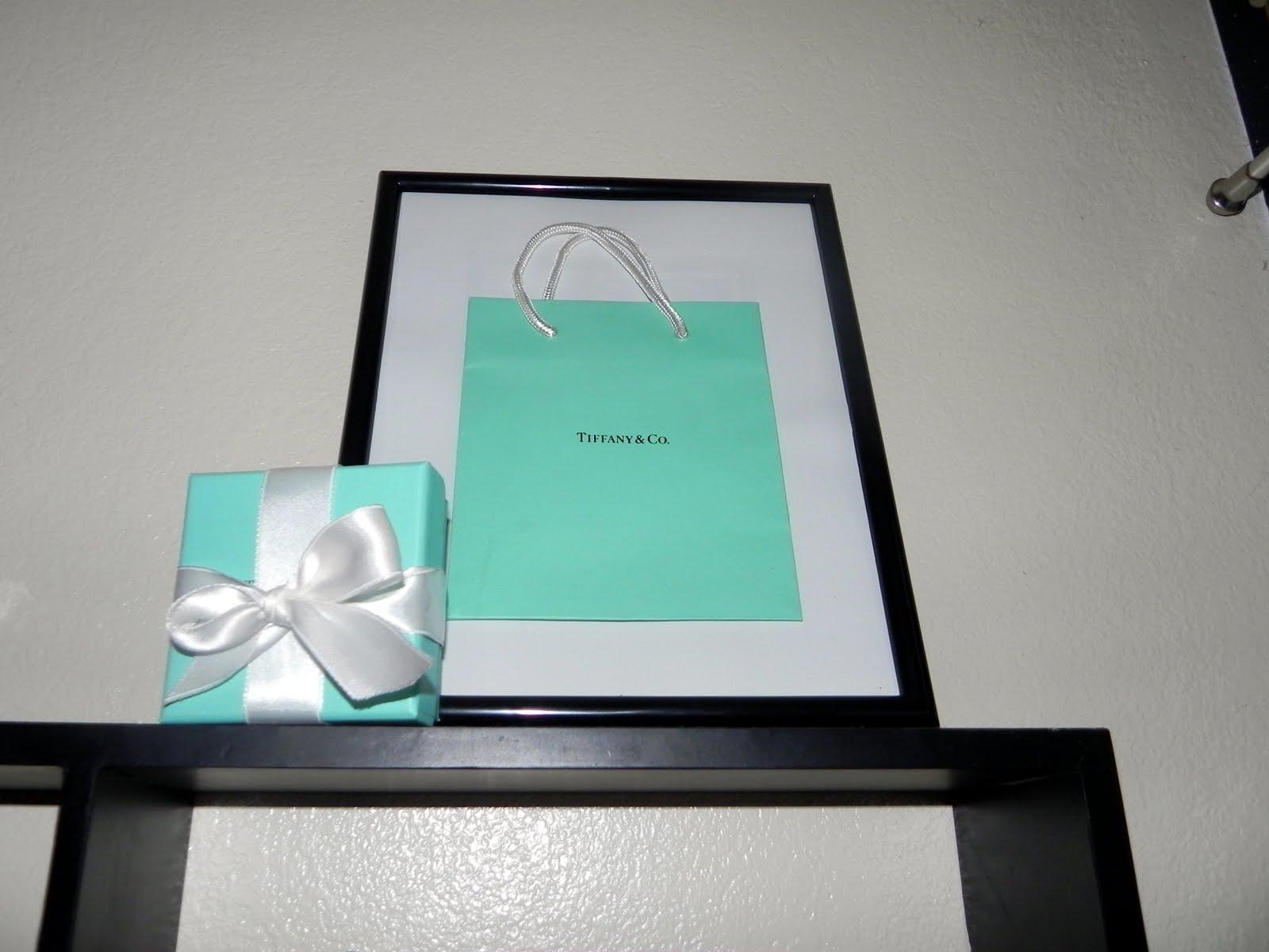30 Days Of DIY Day 19 Frame Your Tiffanys Bag