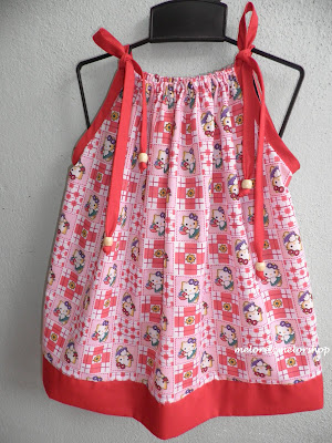 kids pillowcase dress