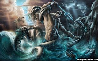 Zeus dewa tertinggi di antara dewa dewi Yunani