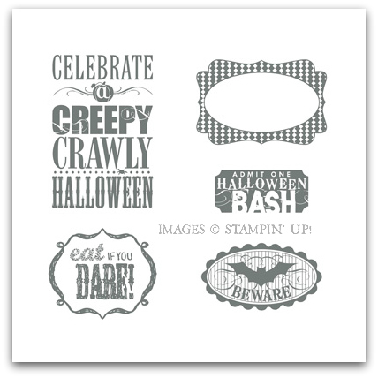 Stampin' Up! Halloween Bash Digital Stamp Brush Set