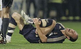 Arjen Robben nuevamente lesionado