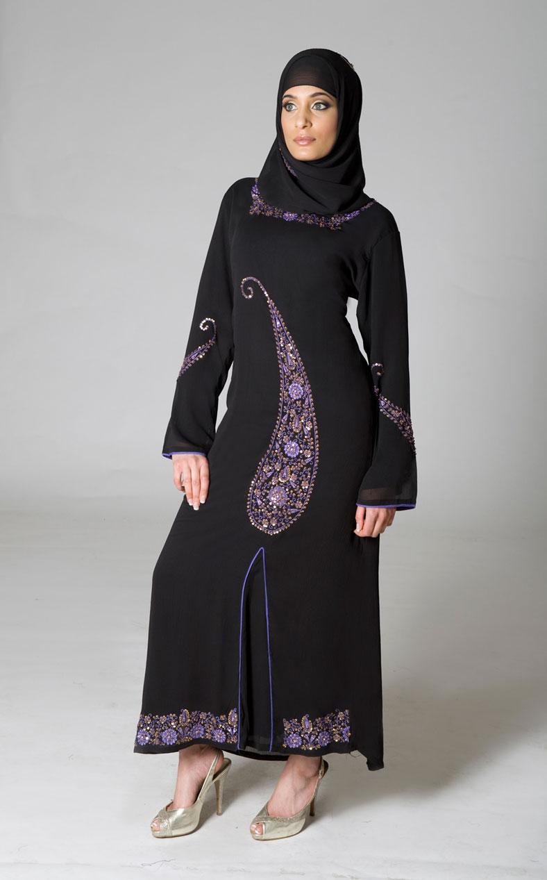 A Fashion Hub Abaya Trends 2012 Latest Abaya Collection