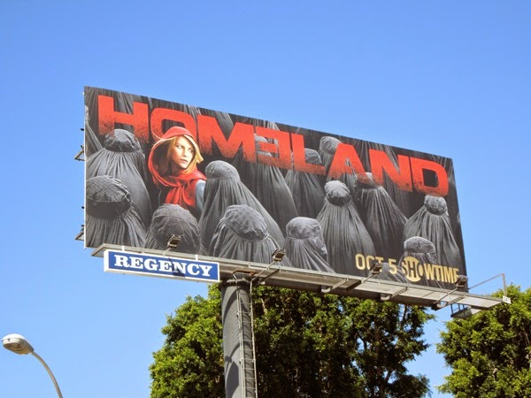 Homeland season 4 billboard