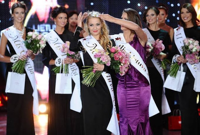 Miss Lietuva Lithuania 2013 winner Ruta Elzbieta Mazureviciute