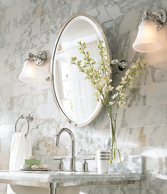A dream house for trish pottery barn mirror dream house - Pottery barn bathroom vanity mirrors ...