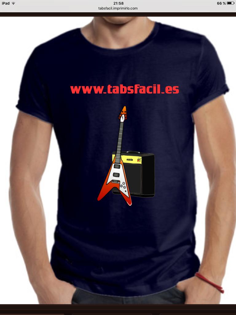 Camisetas TabsFácil!!