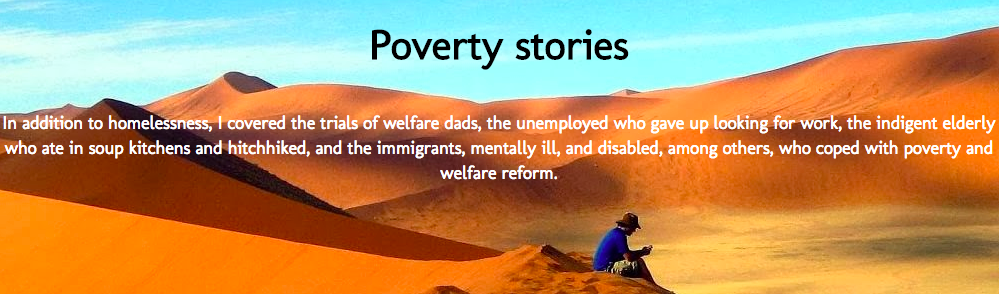 Poverty stories