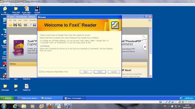 16 instalación de foxit reader