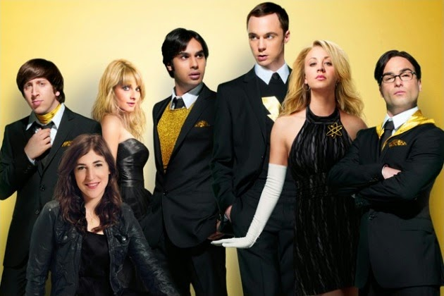 the big bang theory plume de blonde