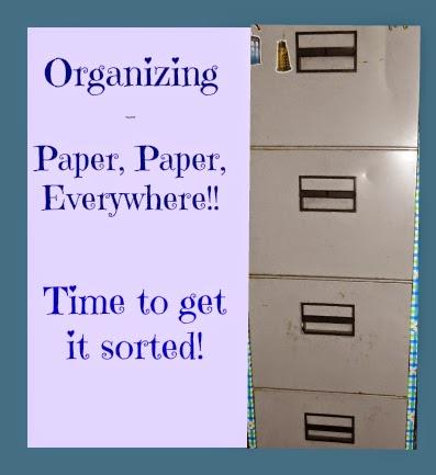 filing cabinet organizing paperwork